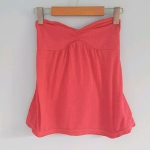 American Eagle sweetheart babydoll strapless top